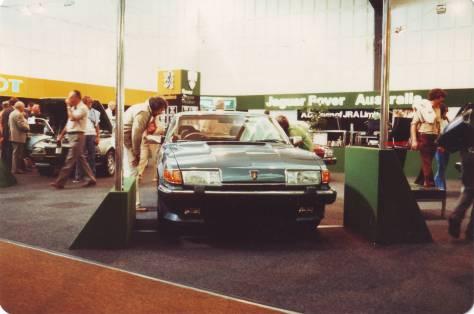 DSC_0012 Rover Vanden Plas 3500 Melbourne Motor Show March 1983