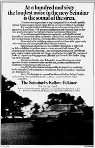 Kellow Falkiner Rover Scimitar The Age 13-8-1981
