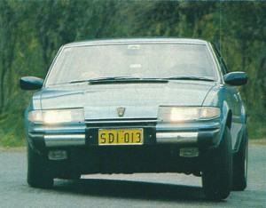 Our Selection - Rover 3500 SD1 Title
