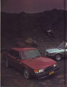 Wheels April 1982 Road Test Comparison BMW 528i Rover 3500SE Saab 900 Turbo intro page 1