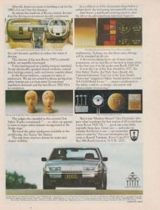 DSC_0044 Rover 3500 SD1 Ad Wheels mag 1979
