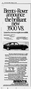 Rover Ad Brents The Age 27-2-1979