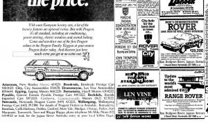 Rover Ads SMH 20-8-1985