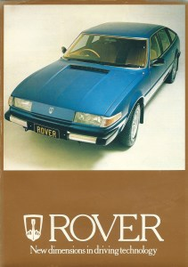 Rover 3500 SD1 New Zealand Brochure circa 1978 page 1