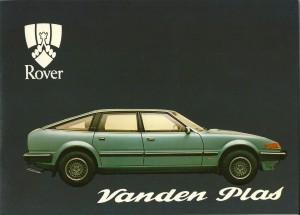 DSC_0002 1982 Rover Vanden Plas Owners Handbook Cover