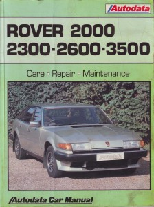 DSC_0011 Autodata Rover SD1 2000 2300 2600 workshop manual