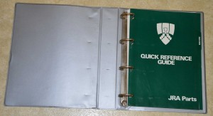 DSC_0112a JRA Quick Reference Guide 1987