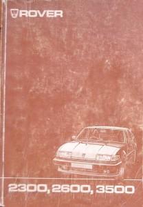 Rover SD1 2300 2600 3500 Repair Operation Manual 1981