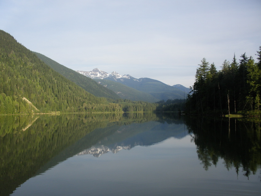 Rocky Mountains Lake