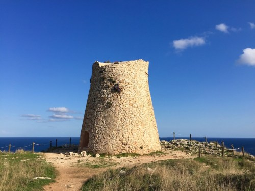 Torre Minervino outside of Otranto on the east coast of Salento