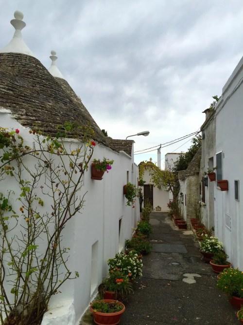 Side street in Alberobello