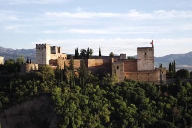 View of the Alahambra