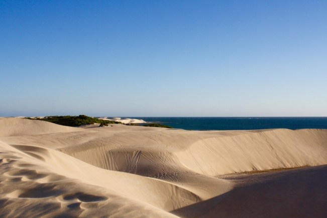 Sand dunes outside of Geraldton