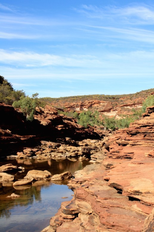 Z Bend Gorge in Kalbarri National Park between Perth and Exmouth