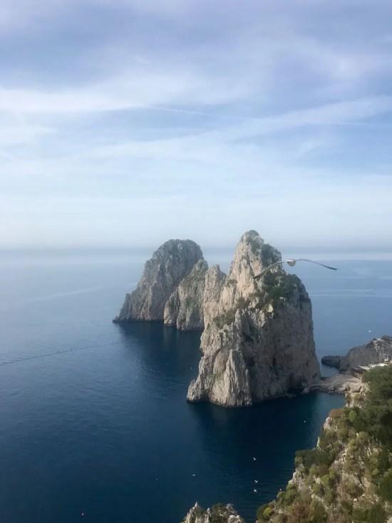 Faraglioni on Capri