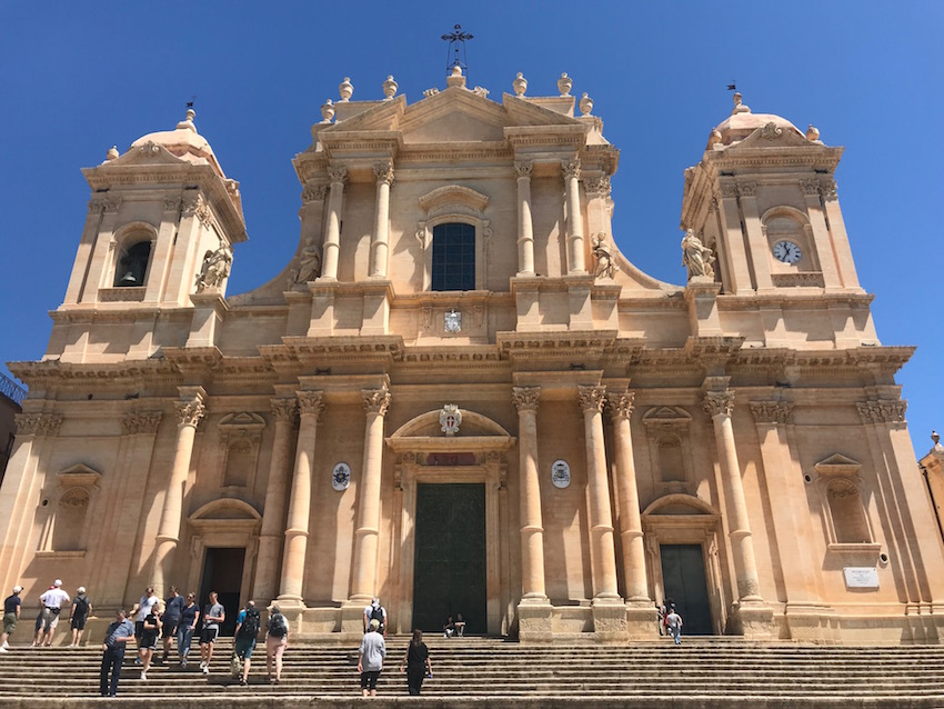 During a day trip to Noto, you'll definitely see Noto's Duomo
