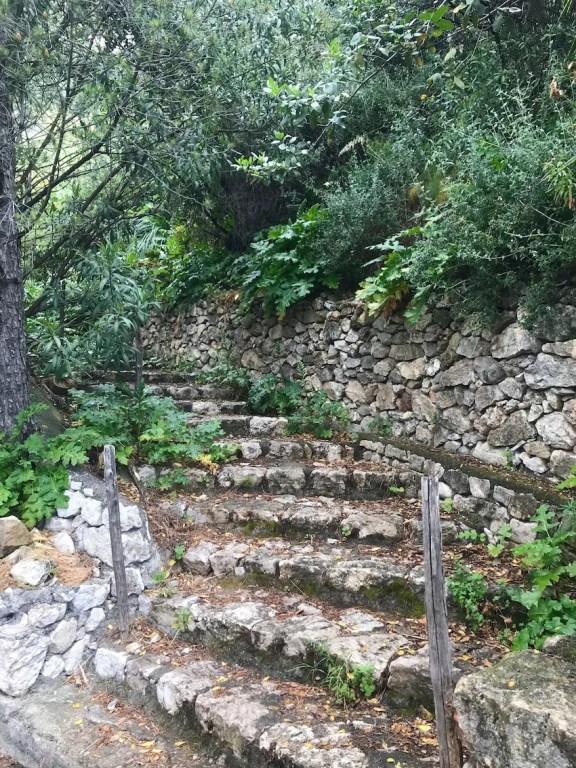 Stairs leading to Castelmola
