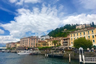 If arriving by ferry, you'll spend some time during a half day in Bellagio along the waterfront
