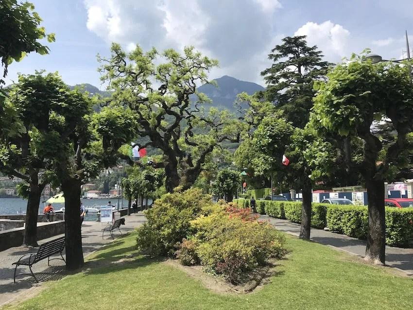 Menaggio's promenade is a must do even during a short trip to Menaggio