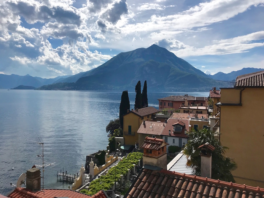 View from Varenna Apartment