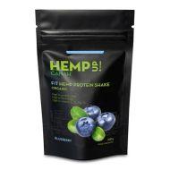 Fit Shake Proteic de Canepa si Afine Bio 300g Rovitality