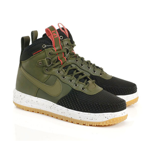 9f6989b04ec3 Кроссовки Nike Lunar Force 1 Duckboot «Green Black» купить в Украине.
