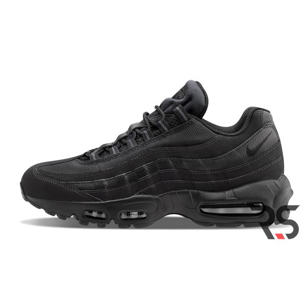 Кроссовки Nike Air Max 95 Black (Rovno-Store.com)