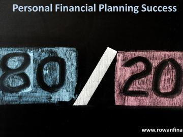 The 80 Percent Approach To Personal Financial Planning Rowan Financial Llc