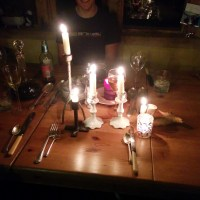 The twelve days of Christmas 10: Candlelit dinner