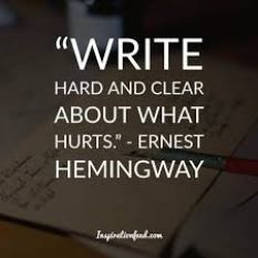 ernest hemingway quote about writing, to inspire people who want to become a copywriter