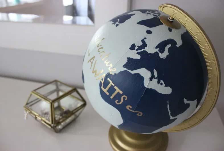 DIY Whimsical Globe
