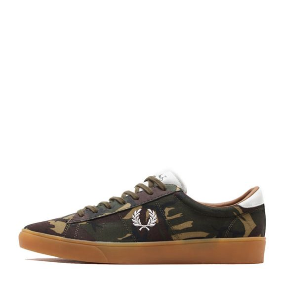 Fred-Perry-Spencer-Camo-Canvas-British-Olive-1