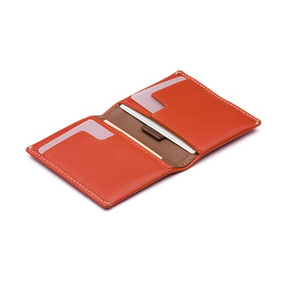 Bellroy Slim Sleeve Wallet Tamarillo