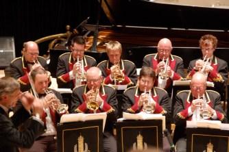 gala concert cornet section