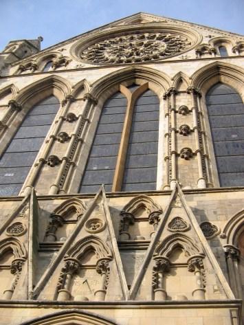 outside The York Minster