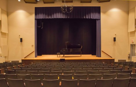 A quiet Boyd Recital Hall