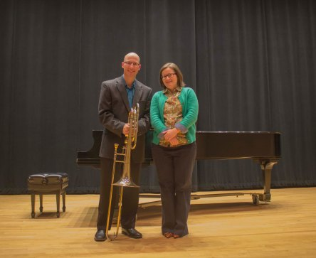 Jason Sulliman and Prof. Amy Bliss