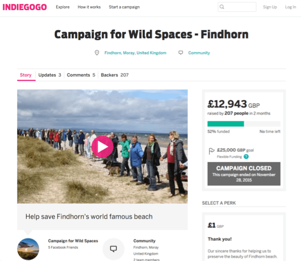 Campaign for Wild Spaces