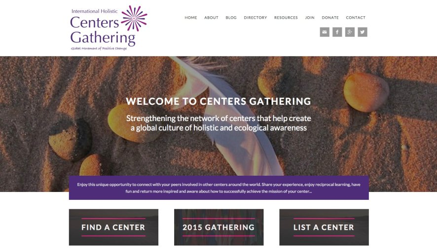 Centers Gathering