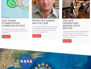 fes homepage design