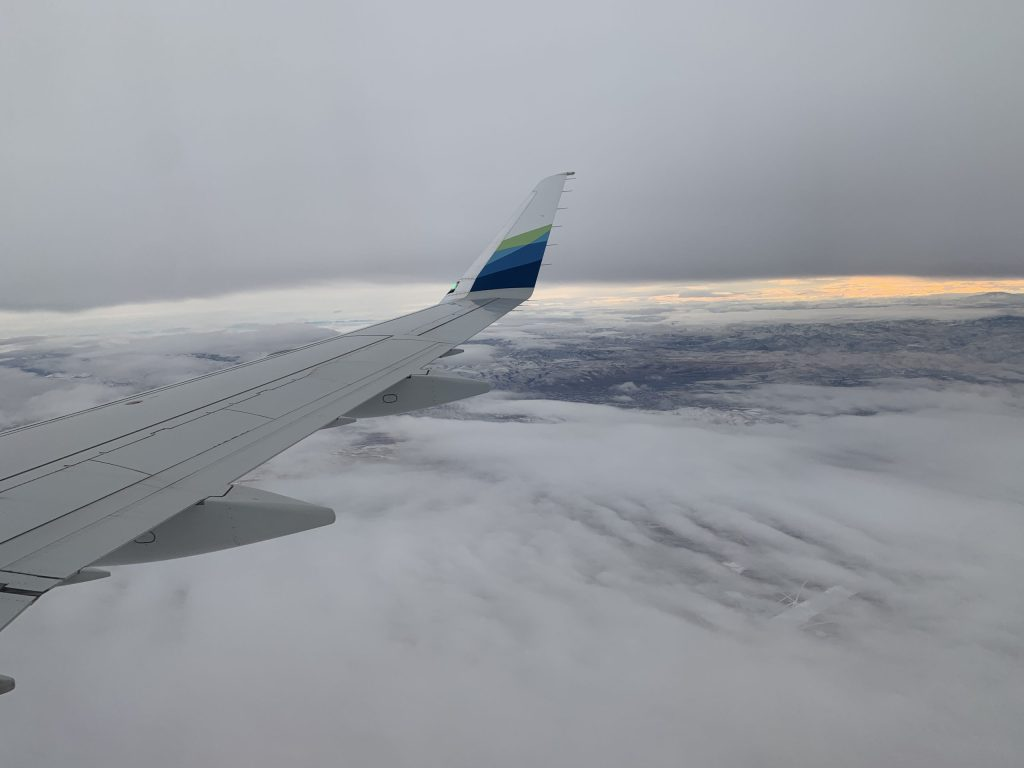 Flying with Alaska Air for Packet6