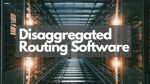 Disaggregated routing with DriveNets