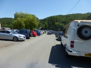 Car parking at Rowen Car Boot Sale