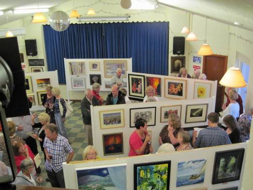 art group exhibition