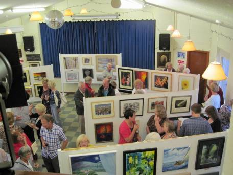 art group exhibition
