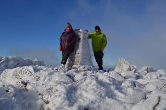 Foel Fras 2018. Thanks to Anna and Kevin Hamblett for this pic