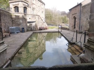 Day 1, St. Winefride's Well, Holywell