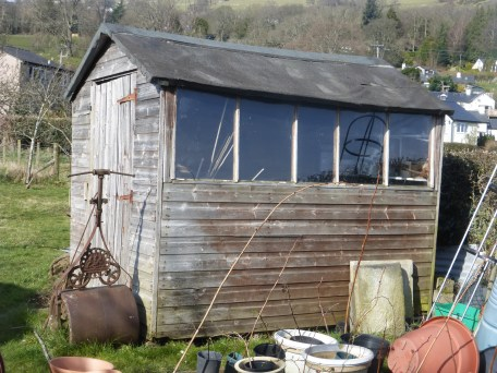 We rehomed this shed for a resident via the Conwy Trash Nothing website