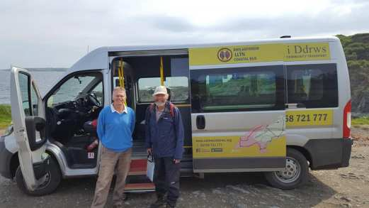 Llyn Coastal Bus, well recommended