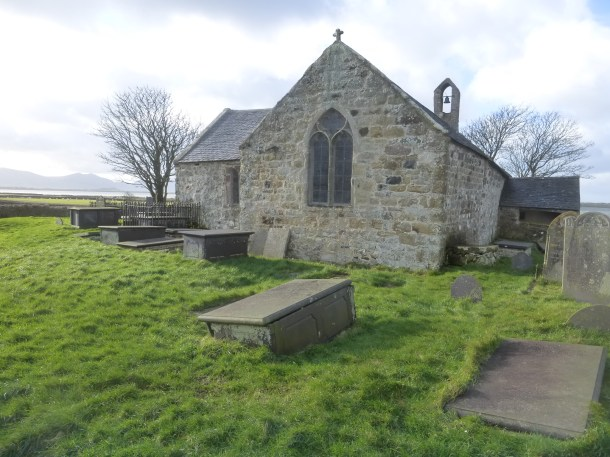 St. Baglan's Church, near Caernarfon, cared for by The Friends of Friendless Churches